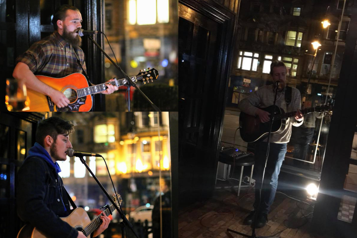 Beer And Buskers, Passing Clouds, Monday night buskers newcastle, best newcastle buskers, busking gigs newcastle, buskers monday, music agency Newcastle, Bigg market buskers, live music Newcastle, acoustic gigs Newcastle, Need Music, Need Music hq